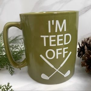 Funny Golfing Themed XL Coffee Mug Golf